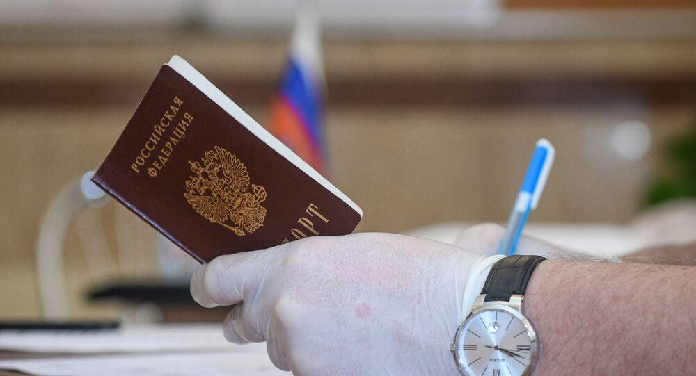 Rus Pasaportu - Rusya Pasaport