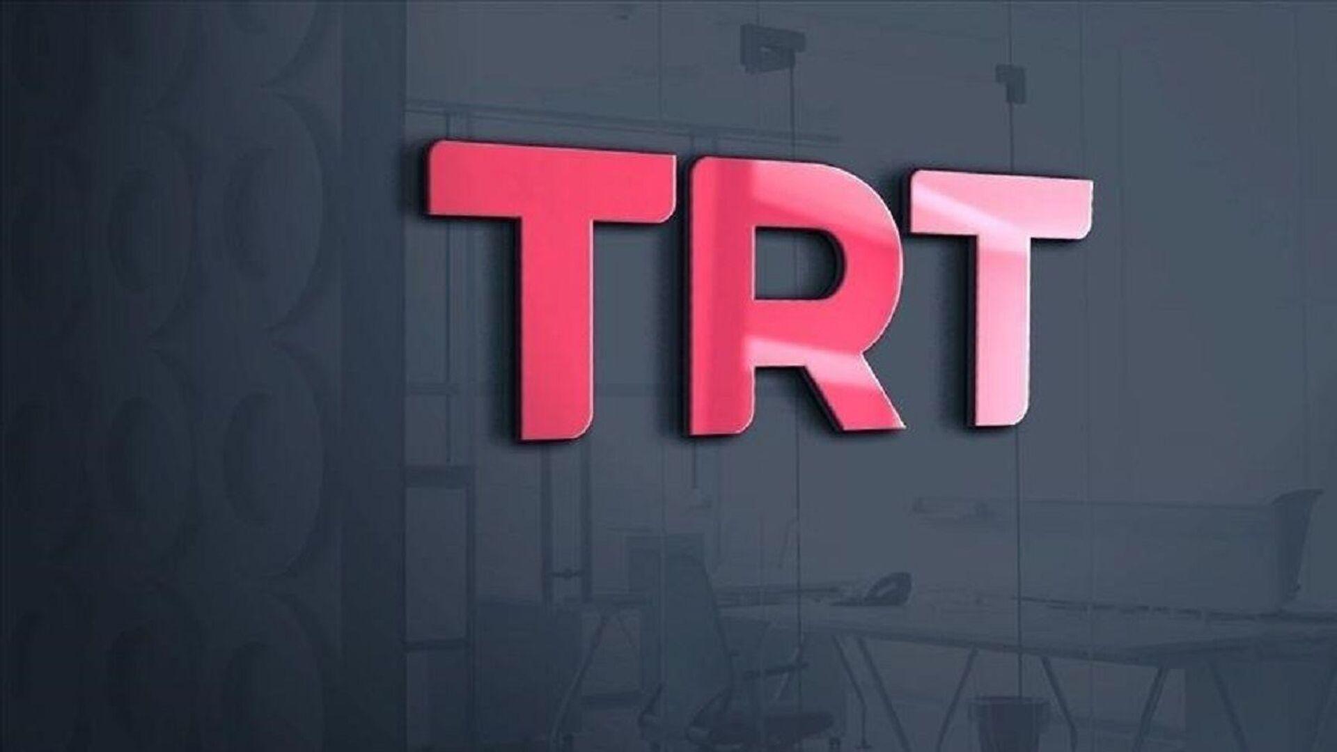 TRT - logo - Sputnik Türkiye, 1920, 14.09.2021