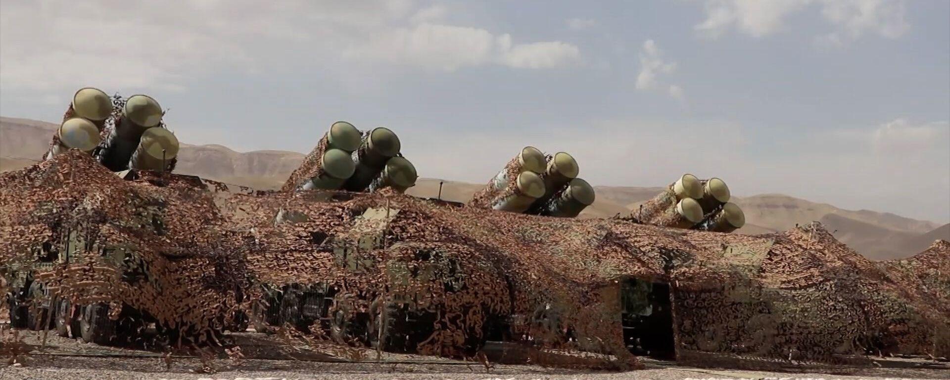 Rusya'dan Taliban tehdidinin arttığı Tacikistan'da S-300'lü eğitim tatbikatı - Sputnik Türkiye, 1920, 27.08.2021