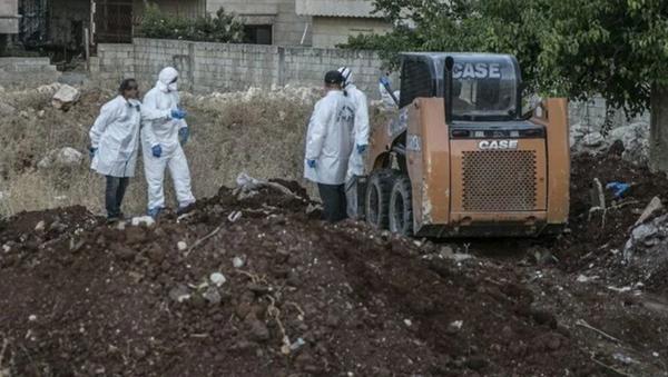 Afrin'de toplu mezar bulundu - Sputnik Türkiye