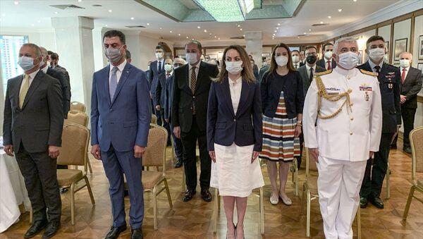 Rusya'nın başkenti Moskova'da 15 Temmuz Demokrasi ve Milli Birlik Günü - Sputnik Türkiye