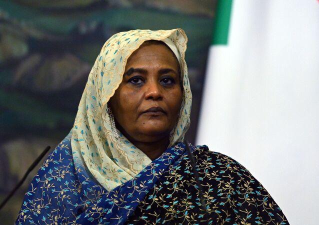 Sudan Dışişleri Bakanı Meryem Sadık Mehdi
