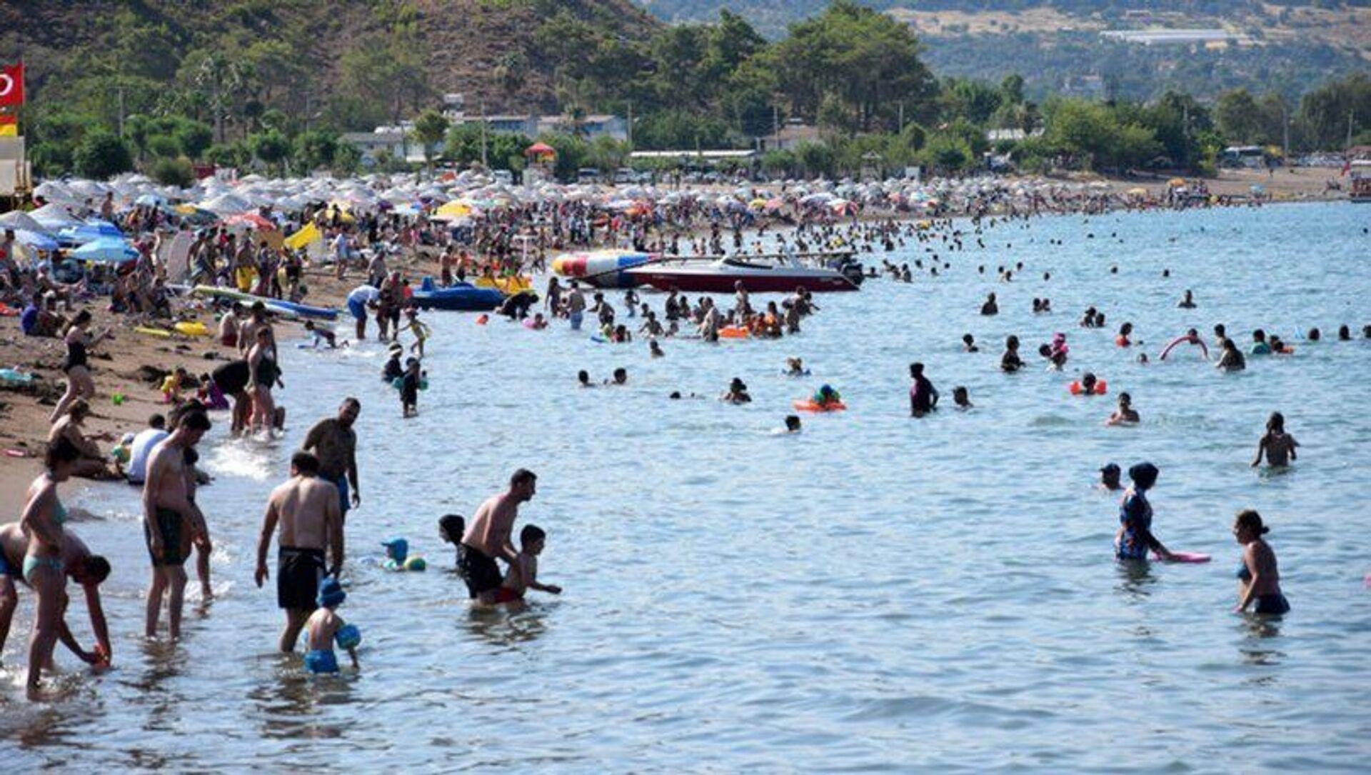 Antalya - yaz - turizm - Sputnik Türkiye, 1920, 16.07.2021