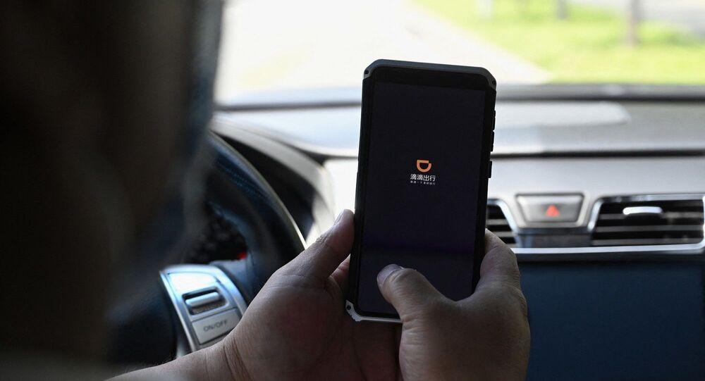 mobil taksi uygulaması olan Didi