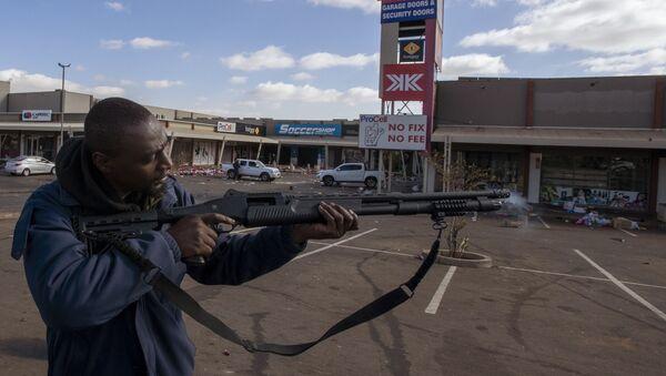 Güney Afrika'da mühimmat deposundan 1.5 milyon mermi yağmalandı - Sputnik Türkiye