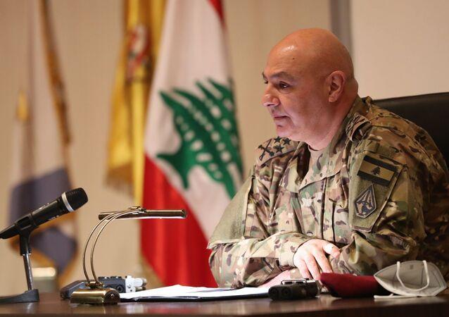 Lübnan Genelkurmay Başkanı Joseph Aun