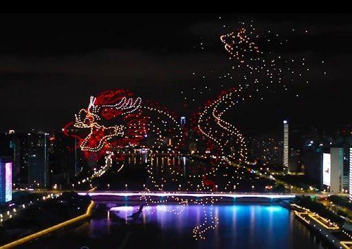 Çin'de Dünya Mirası Komitesi'nden ışıklı gösteri