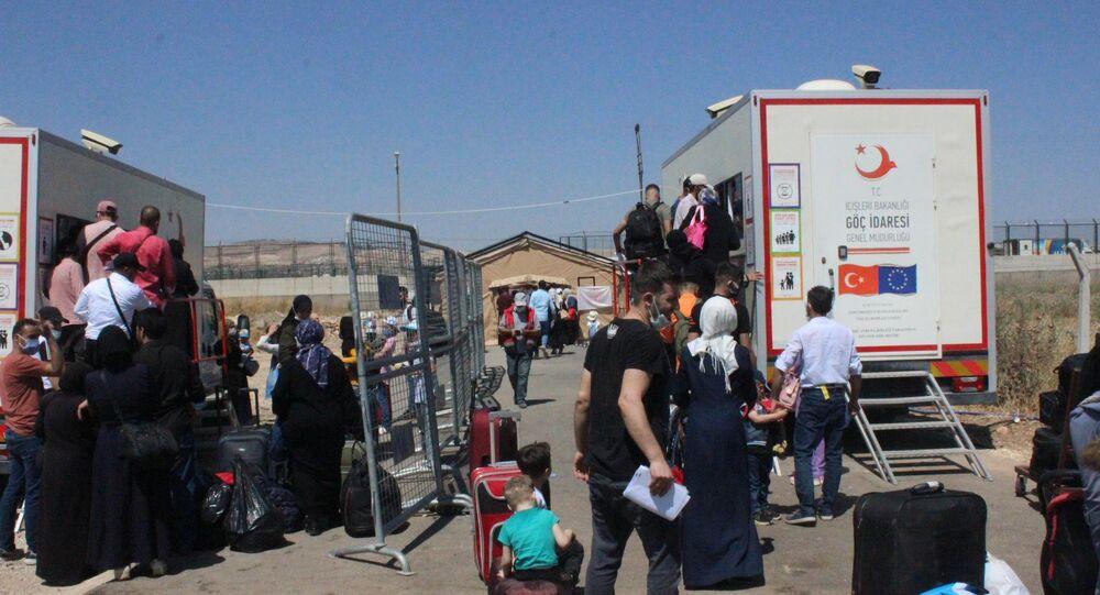 21 bin 500 Suriyeli, Kurban Bayramı için ülkesine gitti