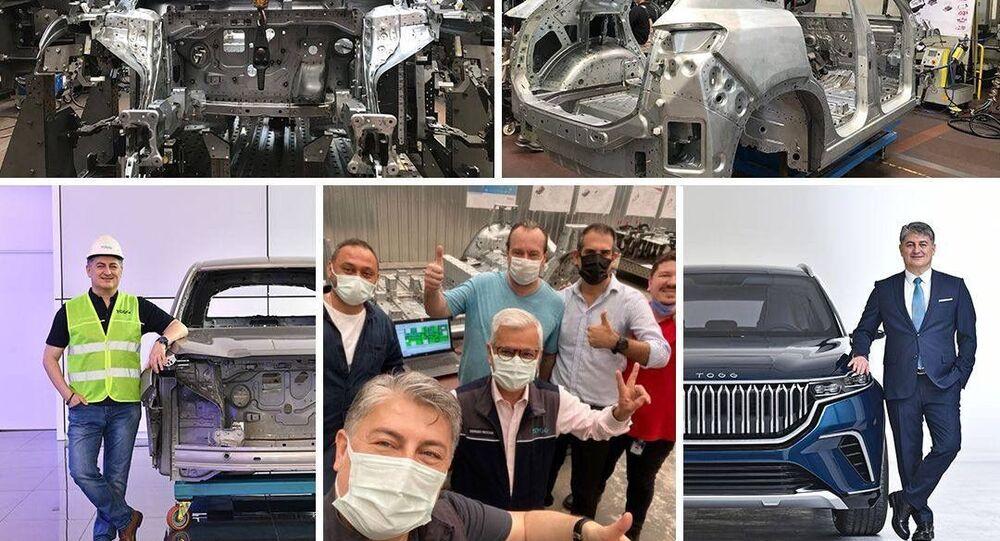 TOGG yerli otomobilin montajından ilk görüntüleri paylaştı: 'Bizi izlemeye devam edin'