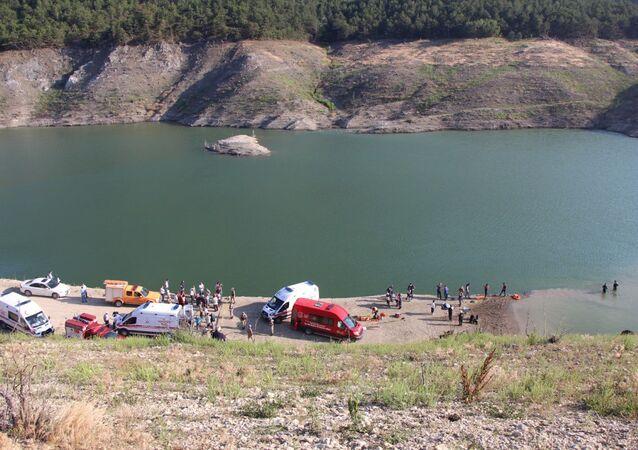 Amasya, baraj gölü
