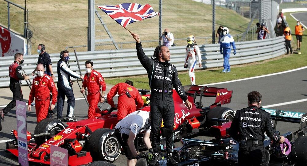 Britanya Grand Prixi'ni  Lewis Hamilton aldı