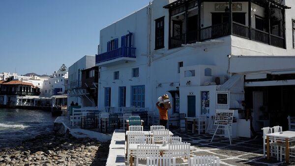 Mikonos Adası, Yunanistan - Sputnik Türkiye