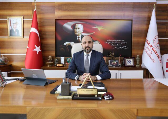 Samsun Sağlık İl Müdürü Muhammet Ali Oruç