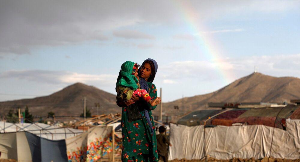 Afganistan - çocuk - ülke içi mülteci -