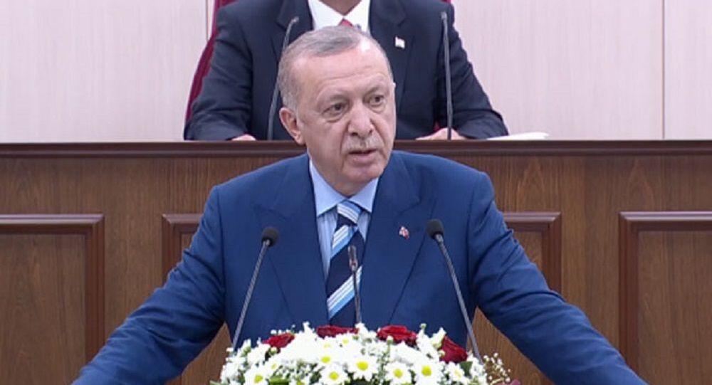Cumhurbaşkanı Erdoğan Kuzey Kıbrıs meclis