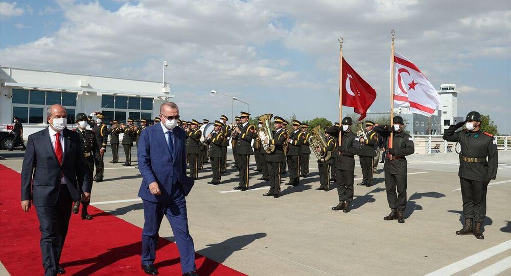 Recep Tayyip Erdoğan, Kuzey Kıbrıs