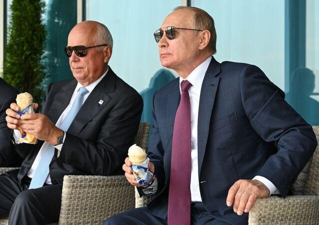 Vladimir Putin dondurma