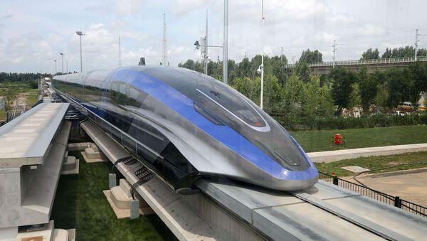 Çin - maglev treni - Sputnik Türkiye