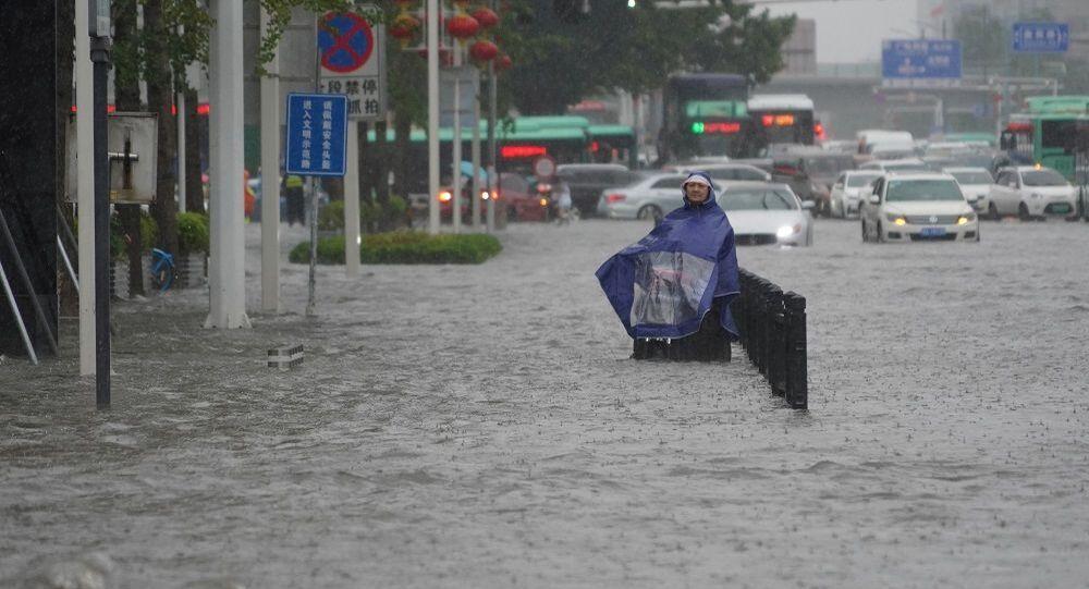 Çin, sel, sağanak