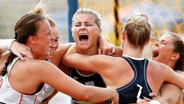 Norveç milli kadınplaj hentbolu takımı - Sputnik Türkiye