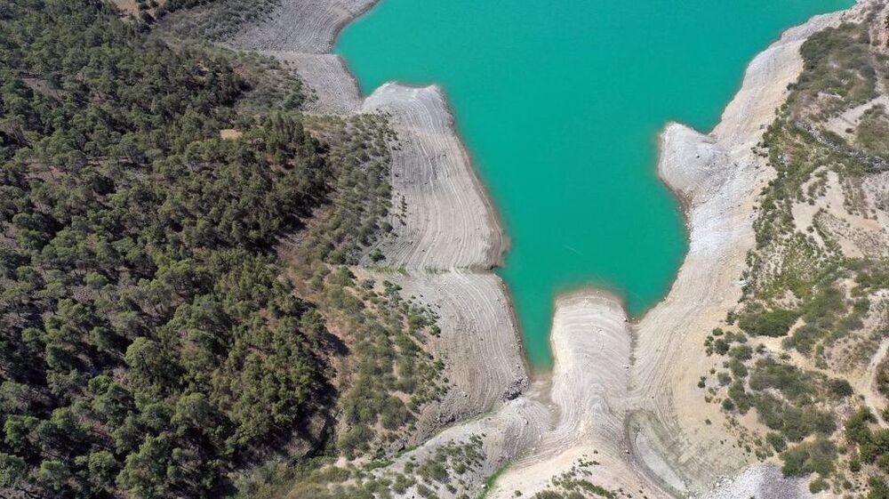 Ziyaretçilerden Melis Erkan, kanyonu görmek için Bodrum'dan geldiğini belirterek, Buranın su dolu fotoğraflarını görmüştük, o kadar da yol geldik. Sırf burası için geldik ama maalesef sular çekilmiş. Boşuna geldik ama yine de fotoğraf çektik. Kuraklık çok kötü etkilemiş dedi.