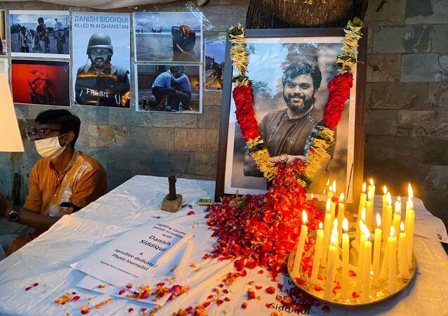 Pulitzer ödüllü Hintli foto muhabir, Taliban tarafından öldürüldü