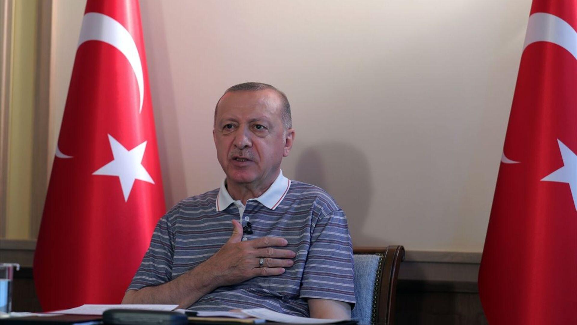 Recep Tayyip Erdoğan - Sputnik Türkiye, 1920, 21.07.2021