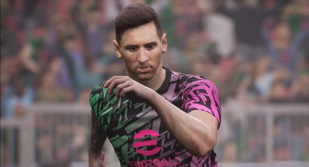 eFootball 2022 Lionel Messi