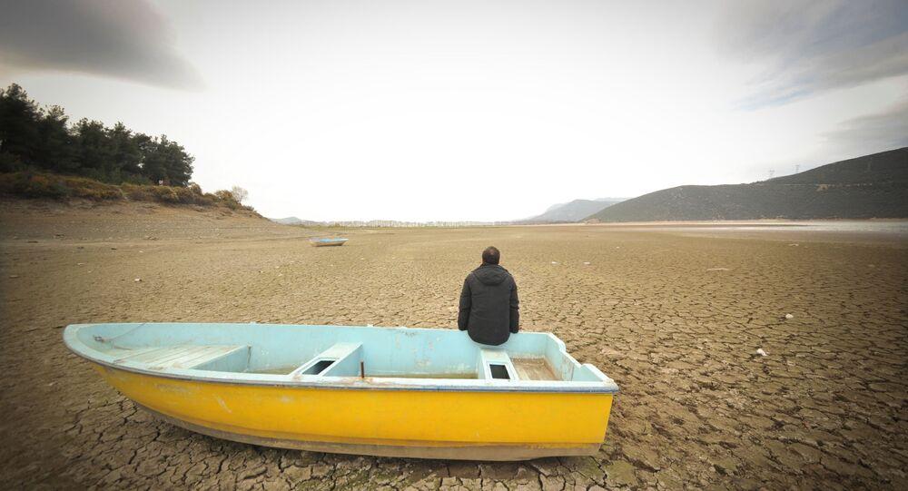 Türkiye kuraklık tekne Gölbaşı Barajı
