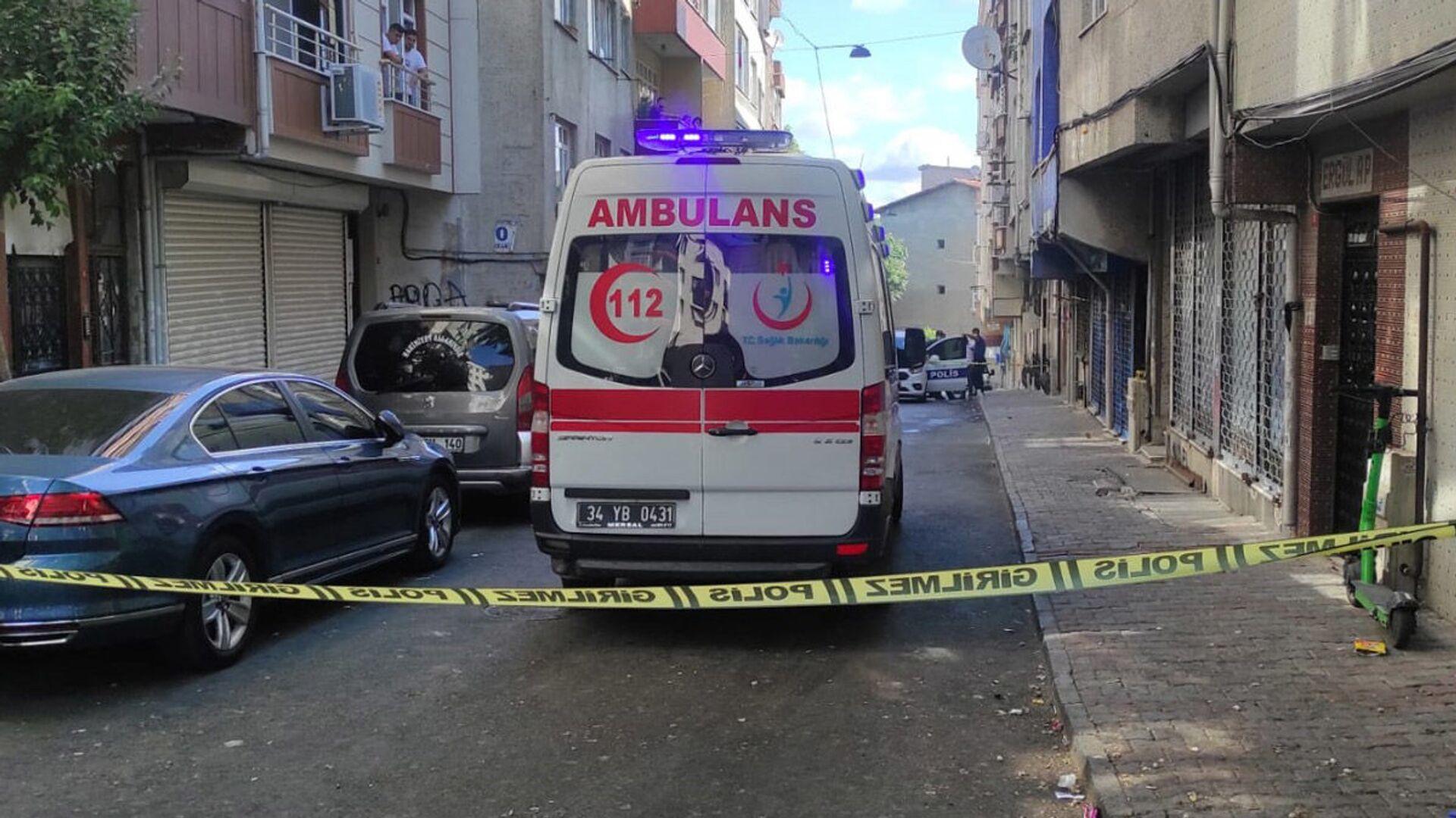 olay yeri - ambulans - Sputnik Türkiye, 1920, 27.07.2021