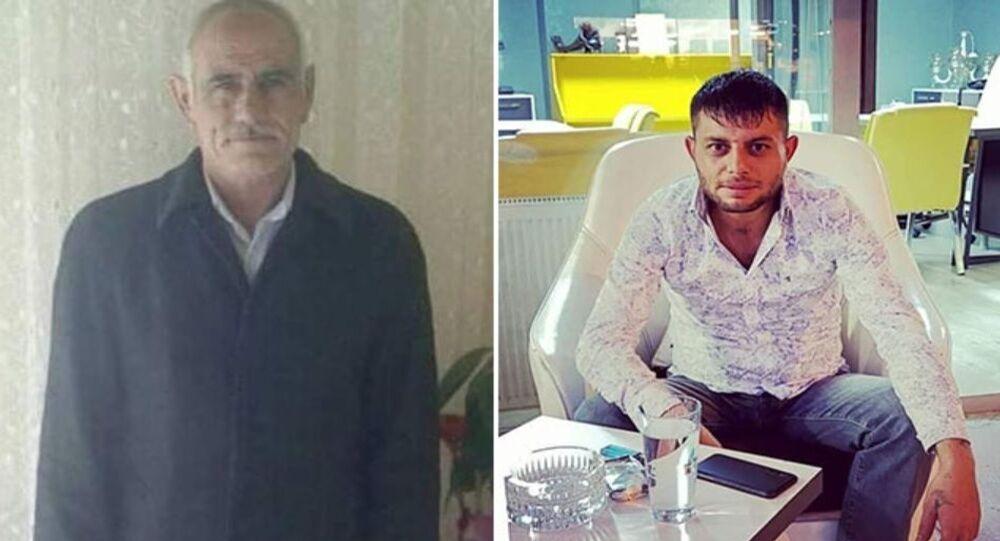 Ahmet Meral ile yeğeni Burhan Koyuncu