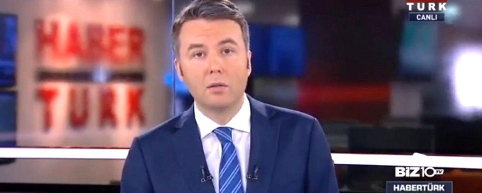 Habertürk televizyonu sunucusu Mehmet Akif Ersoy - Sputnik Türkiye, 1920, 22.07.2021