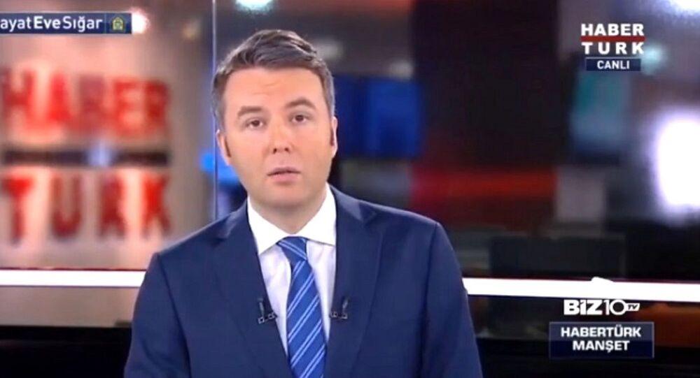 Habertürk televizyonu sunucusu Mehmet Akif Ersoy