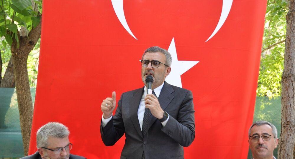AK Parti Grup Başkanvekili MahirÜnal