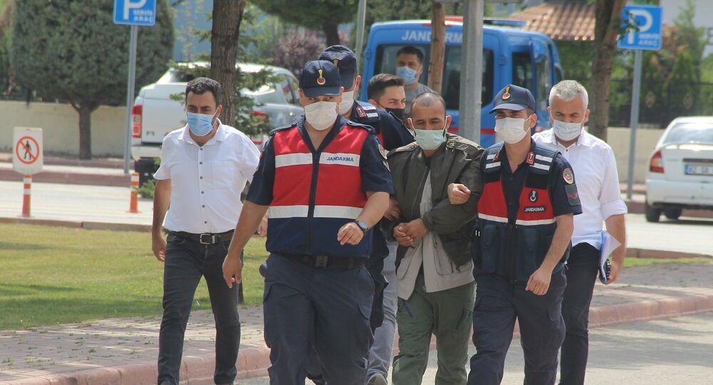 Konya'daki Büyükşen çifti cinayetini işlediği öne sürülen Afgan uyruklu şüpheli tutuklandı.