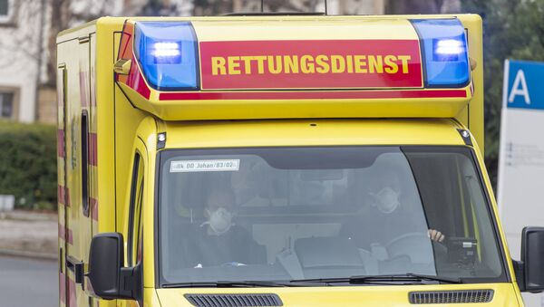 Almanya - ambulans - Sputnik Türkiye