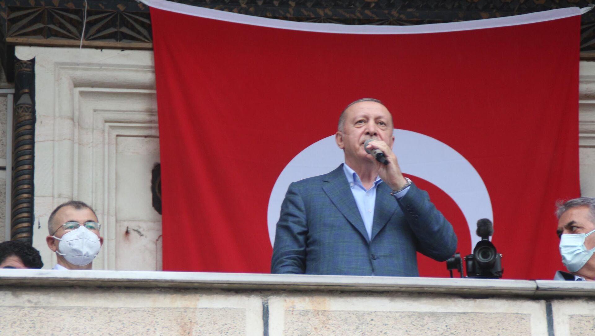 Recep Tayyip Erdoğan - Sputnik Türkiye, 1920, 23.07.2021