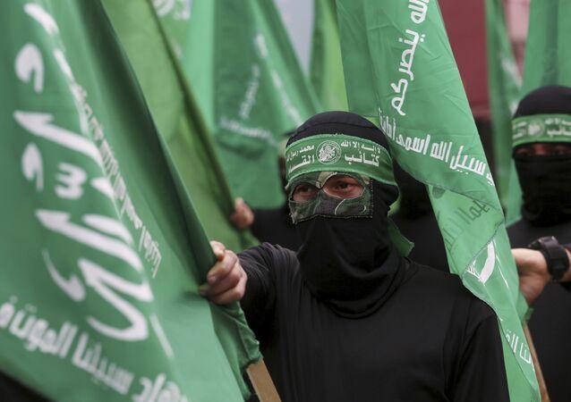 Hamas - Hamas bayrağı