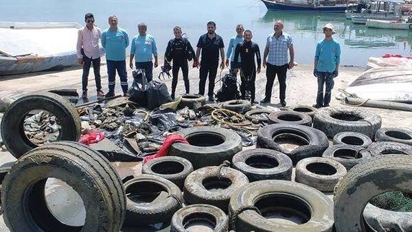 Adana- Deniz kirliliği - Sputnik Türkiye