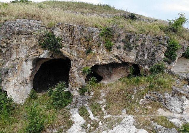 Edirne'de Trak dönemine ait tarihi mağara