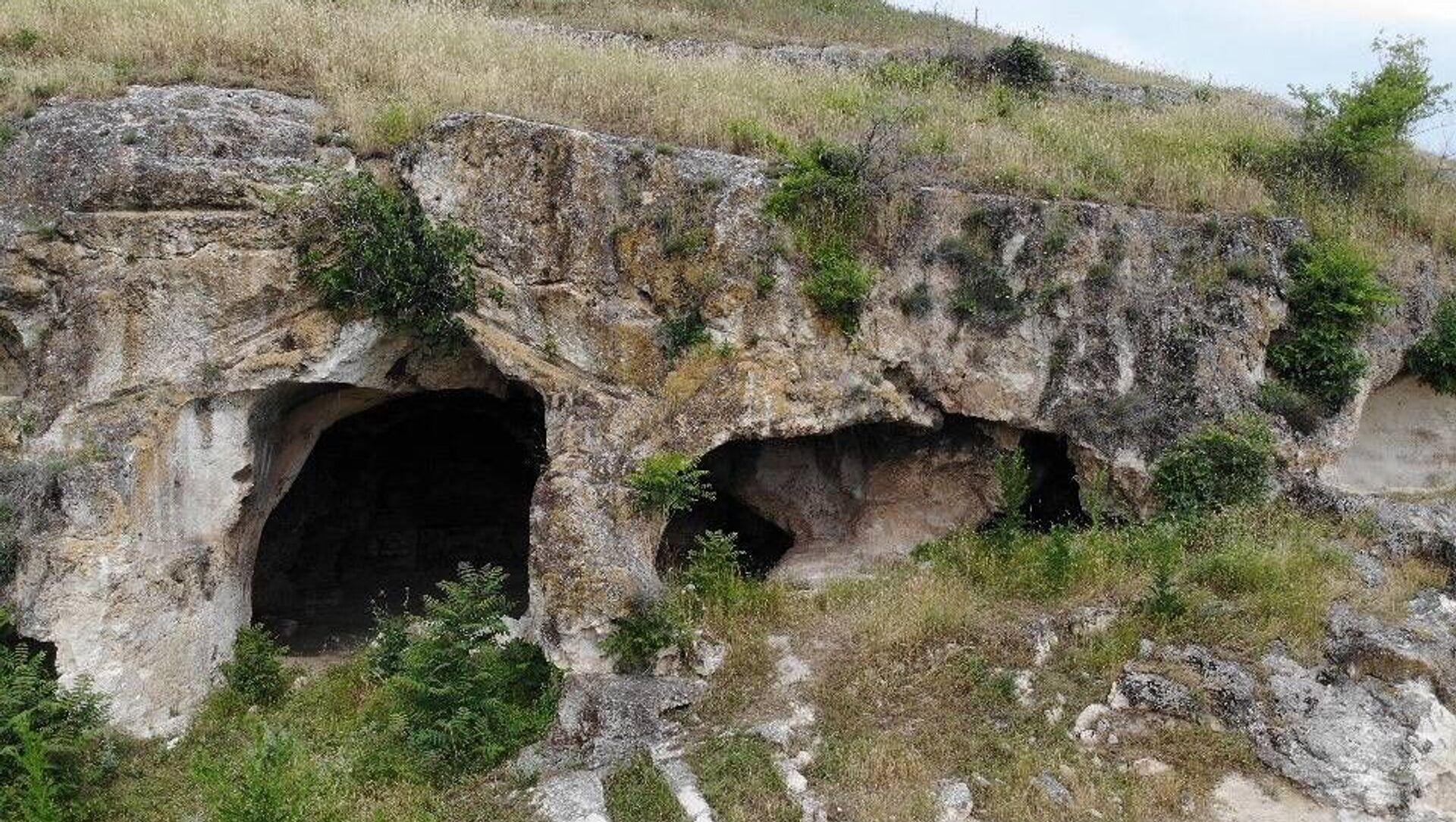 Edirne'de Trak dönemine ait tarihi mağara - Sputnik Türkiye, 1920, 25.07.2021