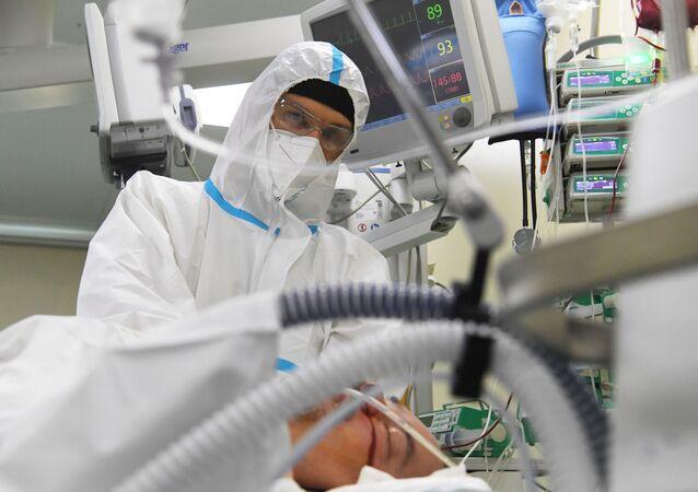 Rusya- Koronavirüs vakaları