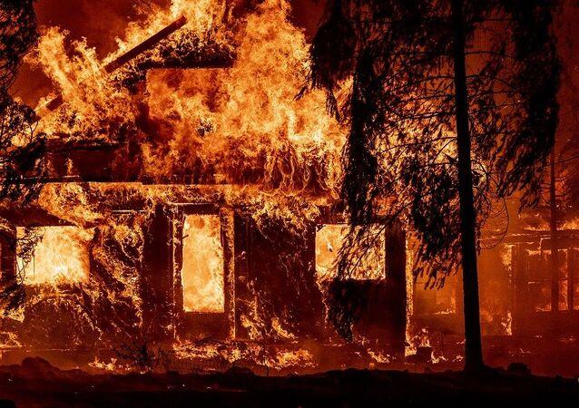 Kaliforniya-orman yangını