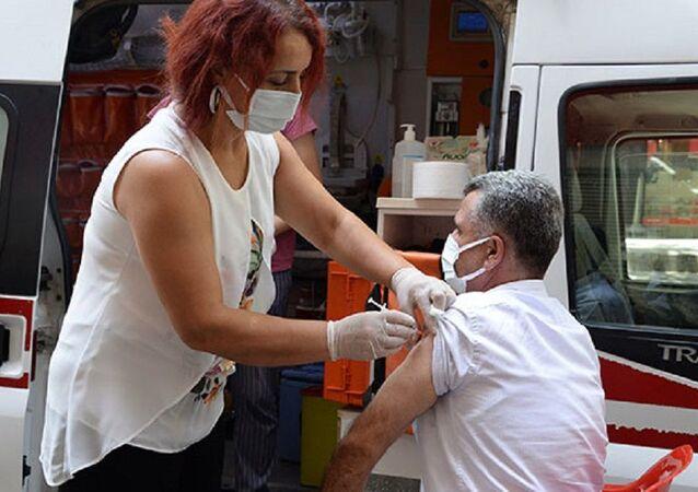Diyarbakır, koronavirüs aşısı