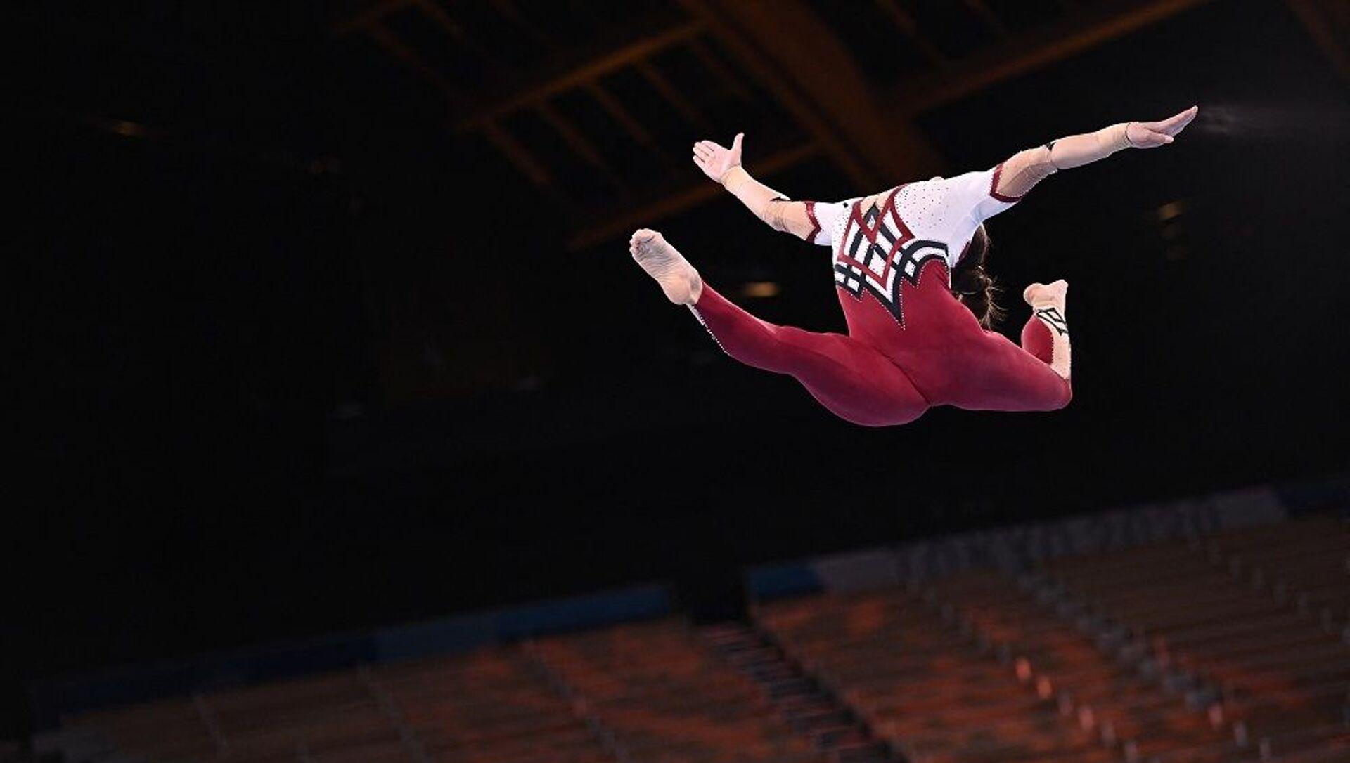 Alman kadın Jimnastikçiler - Tokyo 2020 - Sputnik Türkiye, 1920, 25.07.2021