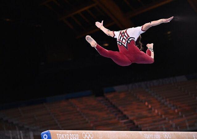 Alman kadın cimnastikçiler- Tokyo 2020