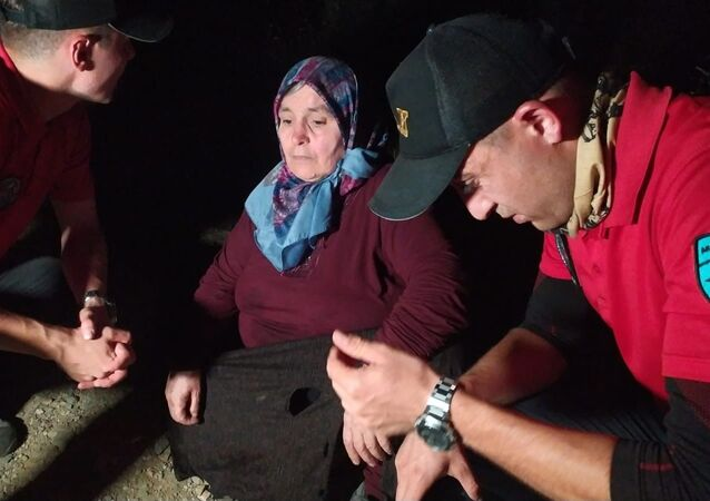 Uludağ'da odun toplamak için gittiği ormanda kaybolan kadın 53 saat sonra sağ bulundu
