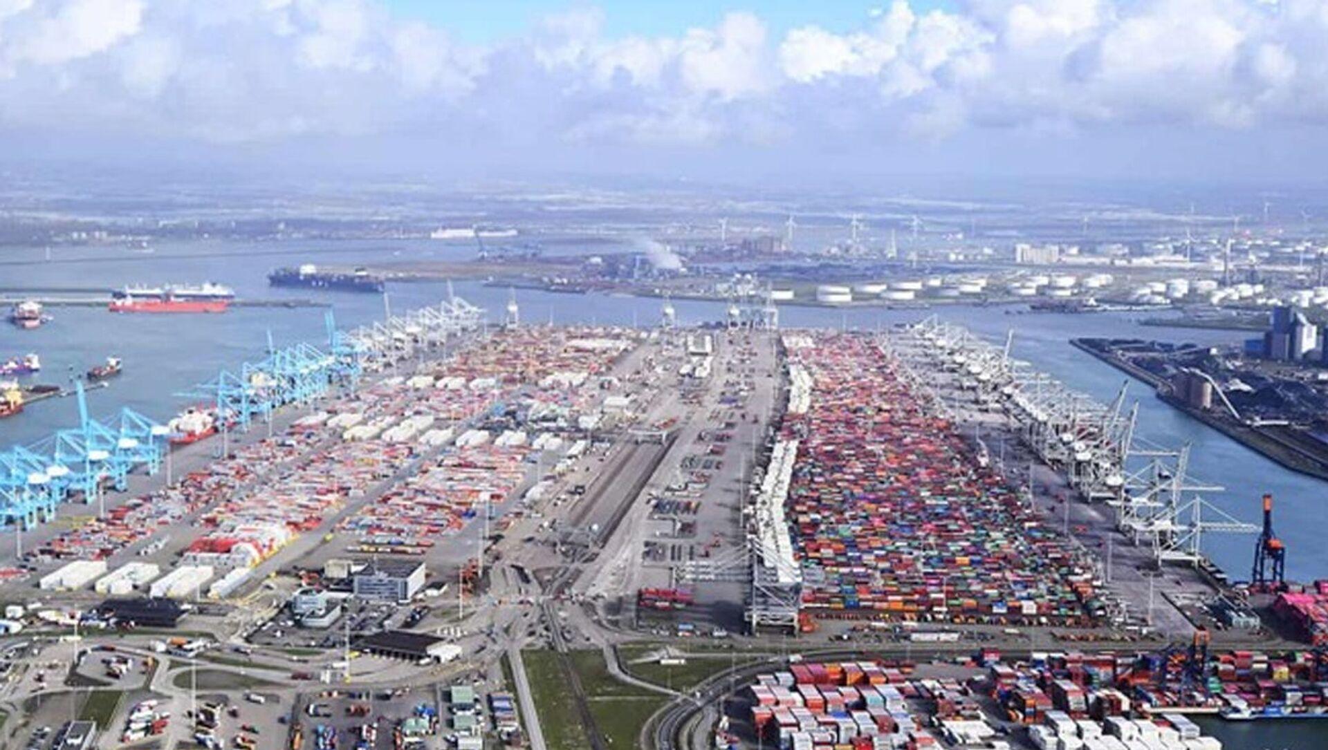 Rotterdam limanı - Sputnik Türkiye, 1920, 26.07.2021