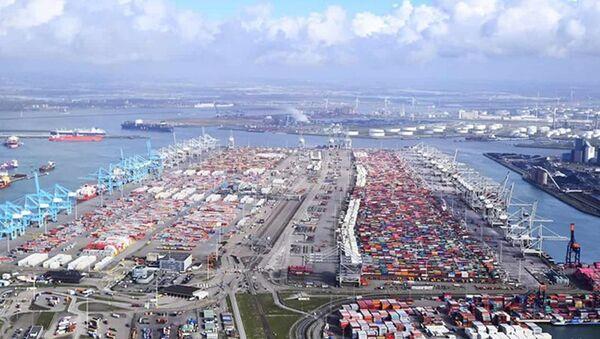 Rotterdam limanı - Sputnik Türkiye