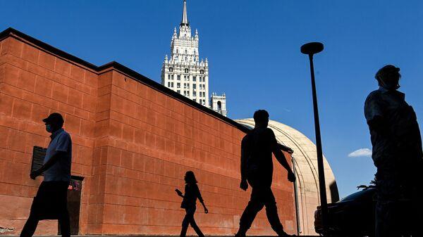 Moskova sokakları - Sputnik Türkiye